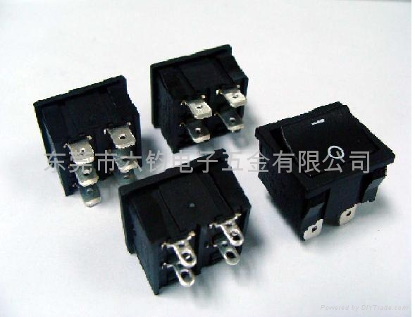 供应LEGION复印机传真机排插用船型开关 5