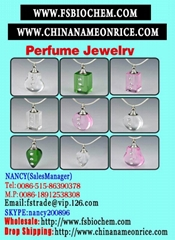 name on rice crystal vials pendants