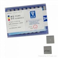 供應硬質合金YG6/YG6X刀片