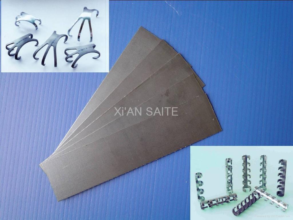 Nickel Titanium Shape Memory Alloy Sheet Niti Nitinol