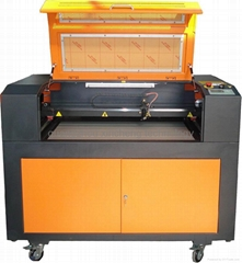laser rubber plexiglass engraver cutting machine