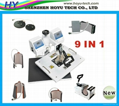 8 in 1 heat transfer machine  9 in 1 heat transfer machine
