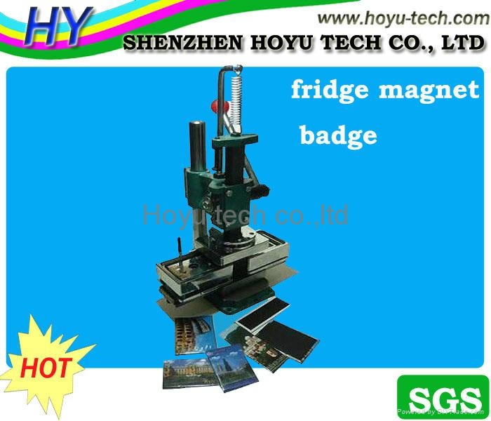 fridge magnet press machine 2