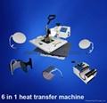 六合一熱轉印機器
