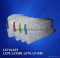 long Brother LC79 LC1280 LC74 LC1240 Refillable Cartridges -C79 cartuchos