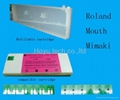 Roland & Mouth & Mimaki Refillable