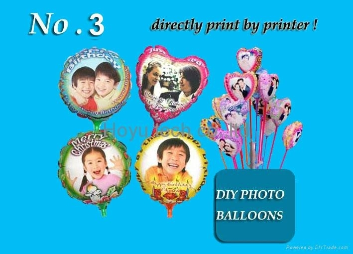 DIY photo balloons