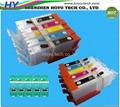 Refillable ink cartridges for PGI-450/CLI-451 PGI-550/CLI-551  BCI-350/BCI-351