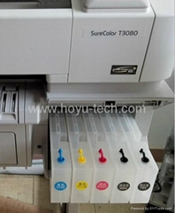 refillable cartridge for Epson Surecolor T3000 T5000 T7000 with chip  resetter