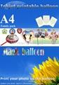 DIY Photo Balloons  inkjet printable balloons magic balloon  2