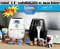 mini 3 D vacuum sublimation machine vacuum heat press machine