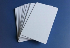 pvc tray  card (white /ic/magnetic bar card)