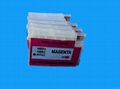 refillable cartridge  for HP 711 with chip for HP T120 T520