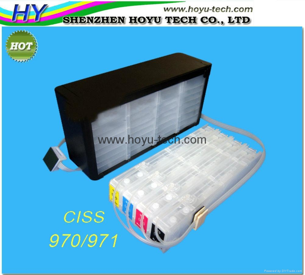 ink system for HP X451 X551 X476 X576 (970/971) CISS with permanent chips 9