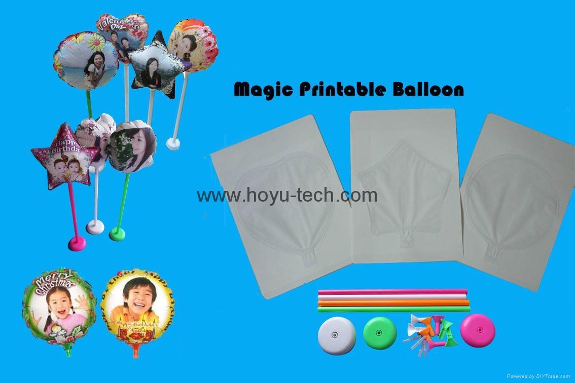DIY Photo Balloons  inkjet printable balloons magic balloon  9