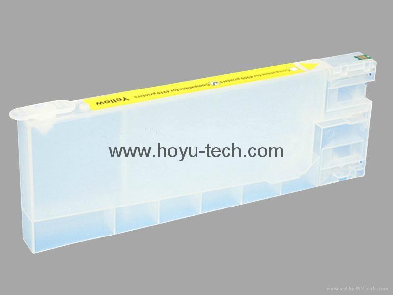 Refillable cartridge for Epson surelab d700 refillable ink cartridge 3