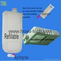 refillable cartridge and compatible cartridge  with chips . good quality