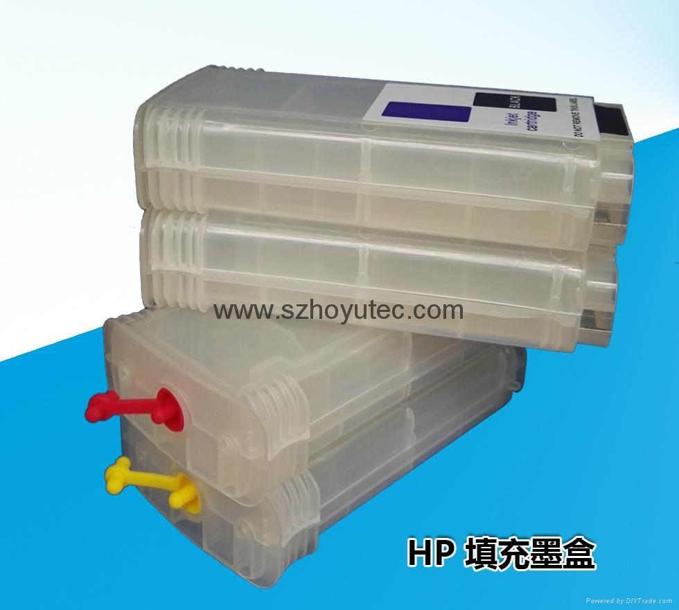 Refillable Cartridge for HPT790 T795 T610 (HP72)  3
