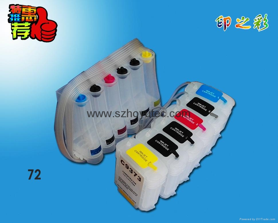 T790 T795 T610/T1100/T1120 (HP72) 填充墨盒 5