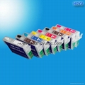 Refillable Ink Cartridge for epson R2000 with auto reset chip