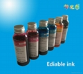 Ediable ink for hp canon printer cake ink  paper