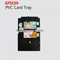Epson T50 PVC card  tray L800 PVC card printable