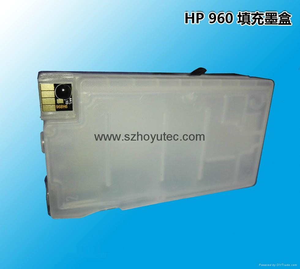 Empty cartridge for HP 960 refill cartridge with Auto Reset chip 2