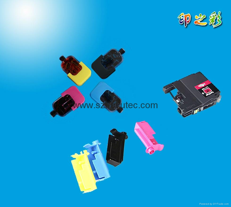 DIY refill ink cartridge tool kit for Brother LC123 LC125 LC127 LC129 LC223 LC22 3