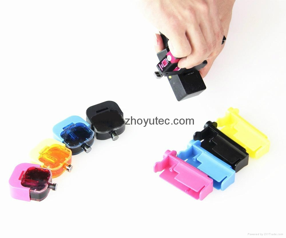 DIY refill ink cartridge tool kit for Brother LC123 LC125 LC127 LC129 LC223 LC22 5