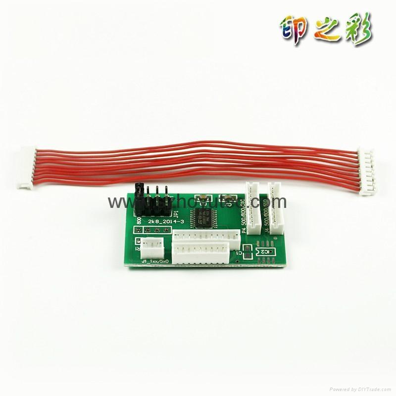Chip Decoder For HP 500 800 120 130 90 100 510 Printer Decoder Board 1