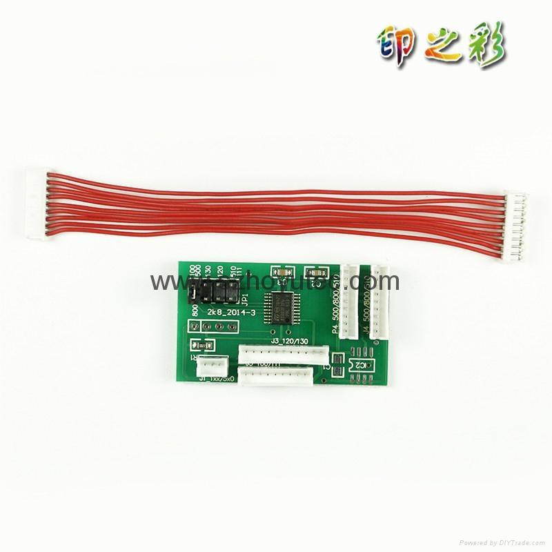 Chip Decoder For HP 500 800 120 130 90 100 510 Printer Decoder Board 3