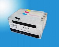 適用HP Designjet T520 T120 711 連供墨盒填充墨盒小連供CISS