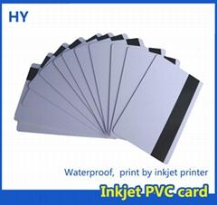 white magnet PVC IC card PVC ID card for L800 L801 T50 P50 printer