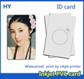 white magnet PVC IC card PVC ID card for L800 L801 T50 P50 printer