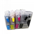 LC3019 Empty Refillable Ink Cartridge Without Chip For Brother MFC-J5330DW J6530