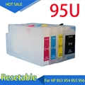Refillable Ink Cartridges compatible for HP 954 954xl For HP OfficeJet Pro 7740