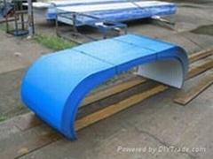 生产输送机防雨罩