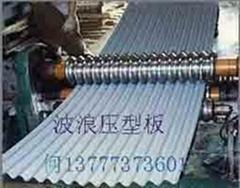 镀锌波浪板YS18-63.5-825彩钢波纹板