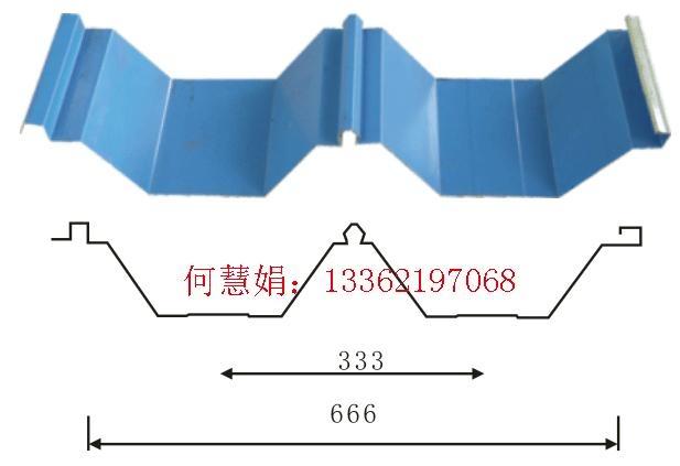开口式楼承板YX130-300-600型屋面板 3
