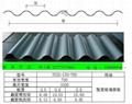 彩鋼波浪板YS18-63.5-825 4