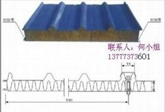 杭州不锈钢彩钢岩棉夹芯板