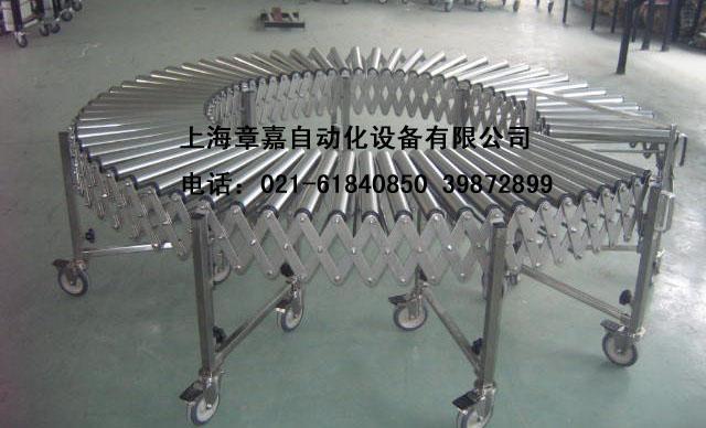 伸缩式滚筒输送机 3