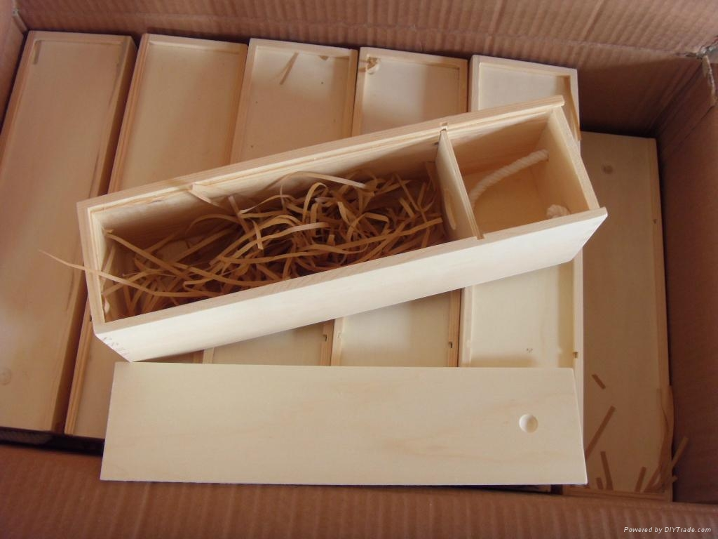 Wooden Wine Gift Box Jly China Manufacturer Bamboo