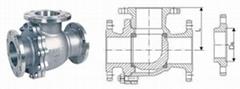Q44F L型三通球閥