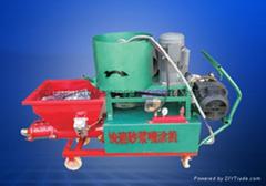 供應GLP-9型快速攪拌砂漿噴塗機