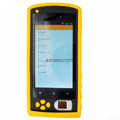 移動指紋考勤機GPS定位