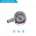 留针式矿用抗震压力表