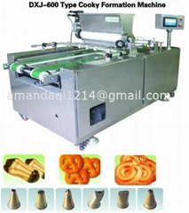 Automatic cookie making machine