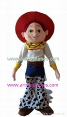 toy story character cowgirl jessie mascot costume mascot mascot costumes