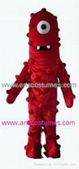 yo gabba gabba character muno Mascot Cartoon Mascot Costume